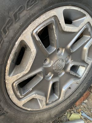 Wheels - Jeep Wrangler for Sale in Victorville, CA