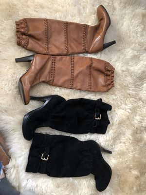 Two Pairs Boots - Size 6 - Michael Kors and Coach for Sale in San Diego, CA