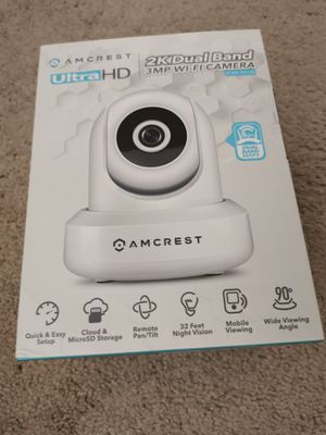 New​ Amcrest ultra HD 2K dual band Webcam security camera for Sale in San Diego, CA