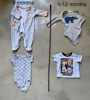 Baby clothes / kids clothes 9-12 months for Sale in Methuen, MA