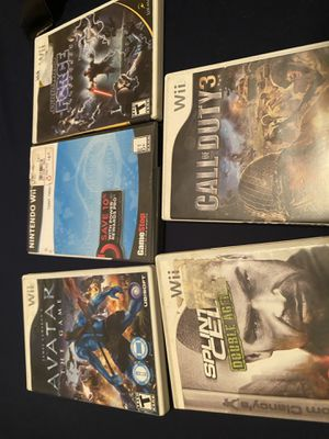 Wii game lot for Sale in Houston, TX