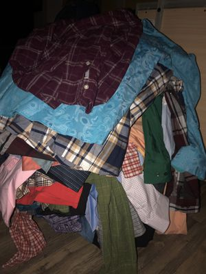 Men's clothings dress suits sets jeans pants shorts shirts long sleeve shoes etc for Sale in Lakeland, FL