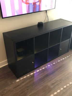 TV STAND WITH AMBIENT LIGHTING for Sale in McLean, VA