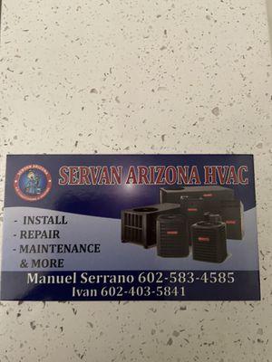 Arizona Servan A/C 📲🛠🏡🧰 for Sale in Phoenix, AZ