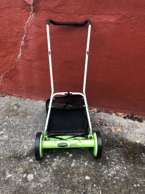 Push lawn mower from Greenworks. Only used a couple times. Retails about $100. for Sale in Seattle, WA