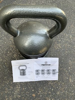 Ajustable kettle bell for Sale in Kent, WA