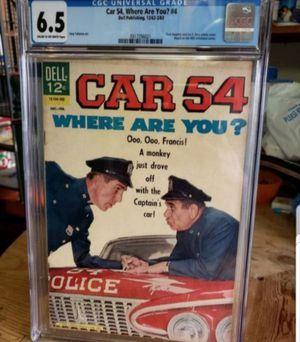 1962 CAR 54 WHERE ARE YOU CGC GRADED COMIC BOOK for Sale in Miami, FL