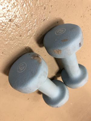 3 lbs hand weights both for Sale in Charlotte, NC