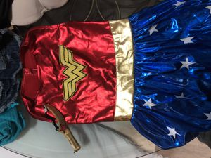 Dog costume wonder woman for Sale in Sunrise, FL