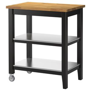 IKEA stenstorp wood and metal rolling kitchen island for Sale in Seattle, WA