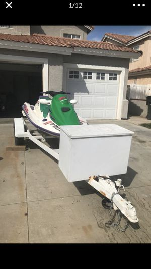 1995 Seadoo GTX 3 Seater 657x With Zieman Trailer! Sea doo jetski jet ski for Sale in Riverside, CA