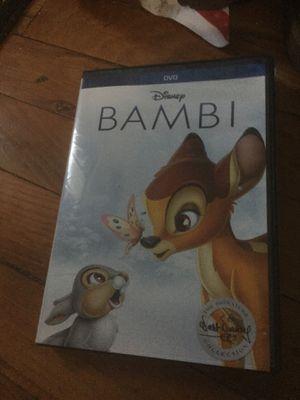 Bambi dvd for Sale in Joliet, IL