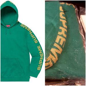 Supreme Metallic Rib Hooded Sweatshirt for Sale in Ashburn, VA