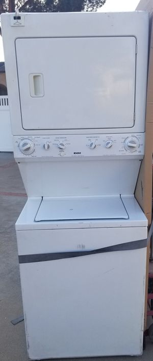 Kenmore stacked large capacity washer/gas dryer for Sale in El Cajon, CA
