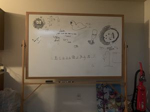 Double sided dry erase board for Sale in Fort Wayne, IN