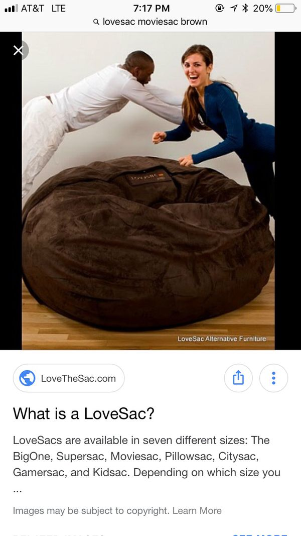 Lovesac Moviesac for Sale in Cooper City, FL - OfferUp