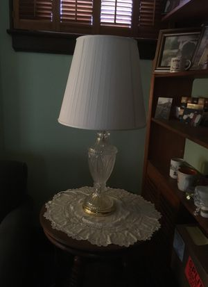 Lead crystal table lamps for Sale in Columbus, OH