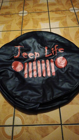 Jeep tire cover for Sale in Bloomington, CA
