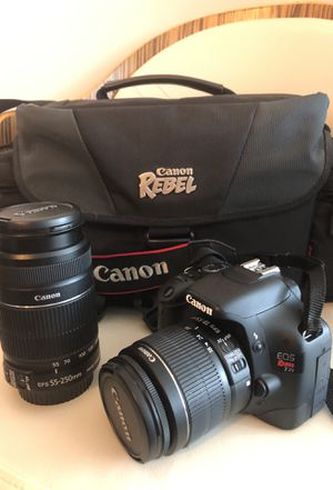 Canon EOS Rebel T2i for Sale in Derwood, MD