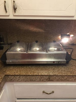 Triple Buffer Warmer and Server for Sale in Vacaville, CA