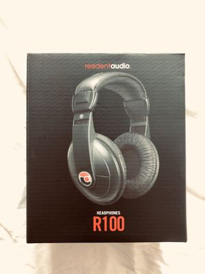 resident audio R100 Pro Headphones 🎧 Audiophile Audio Engineer HD Audio Quality for Sale in Los Angeles, CA