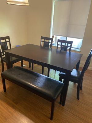 Dining room sets-table with buffet and mirror for Sale in Lynn, MA
