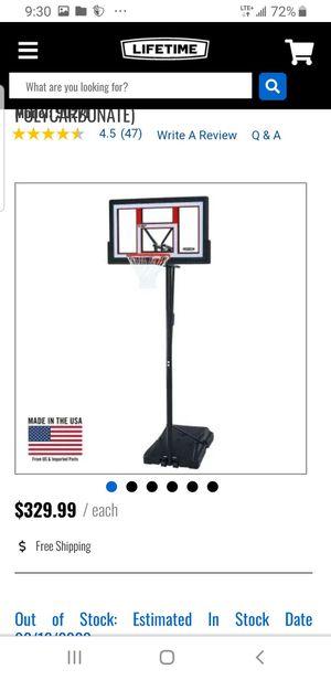"UNOPENED brand new Lifetime 50"" adjustable portable basketball hoop system net for Sale in Philadelphia, PA"