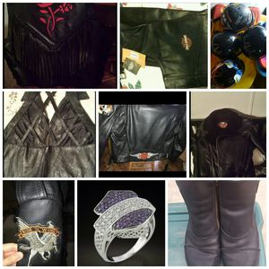 Leather motorcycle items for Sale in Magnolia, TX