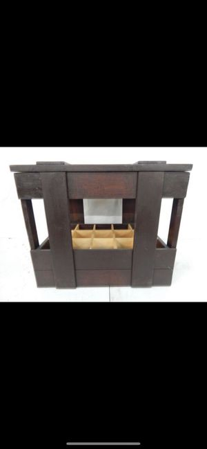 wine bottle storage case/table /restaurant use too for Sale in Fairview Park, OH
