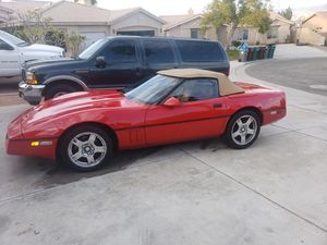 1989 Chevy Corvette convertible fully loaded Also consider trade for motorcycle for Sale in La Quinta, CA