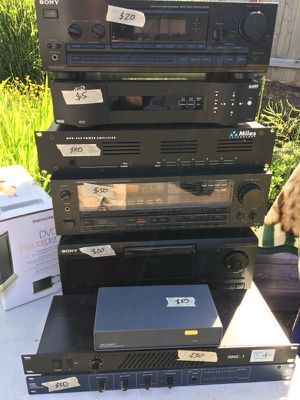 Awesome audio equipment for Sale in Portland, OR