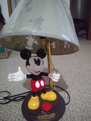 Mickey mouse animated talking lamp for Sale in Goodlettsville, TN
