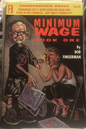 Minimum Wage Book One by Bob Fingerman (1995-07-04) for Sale in Rensselaer, NY