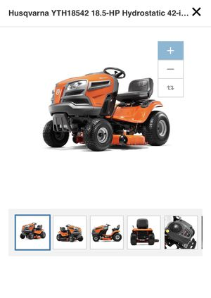 Husqvarna HYDROSTATIC RIDING LAWN MOWER for Sale in Stone Mountain, GA