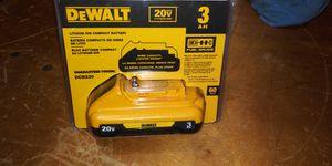 DEWALT 20-Volt MAX Lithium-Ion Compact Battery Pack 3.0Ah for Sale in Atlanta, GA