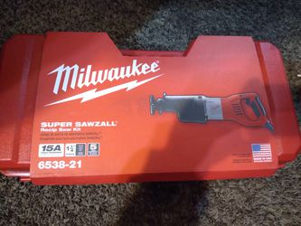 Milwaukee Super Sawzall for Sale in Saratoga,  CA