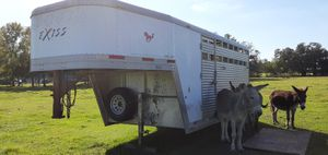 Exiss 3 horse slant horse trailer, stock combo with large tack room for sale.title in hand for Sale in Wimauma, FL
