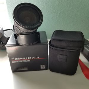 Sigma 17-50 2.8 EX DC OS for Canon for Sale in Houston, TX