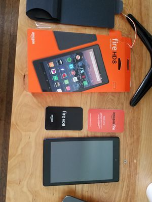 Brand New 16gb Amazon Fire HD8 Tablet with Alexa for Sale in San Diego, CA