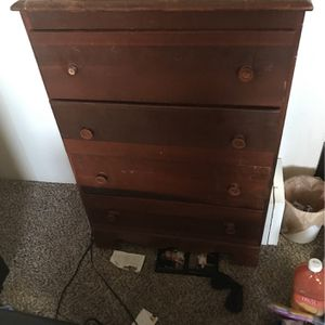 Wooden Dresser for Sale in Wichita, KS