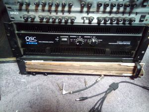 QSC Audio Amp. RMX 4050HD for Sale in San Diego, CA