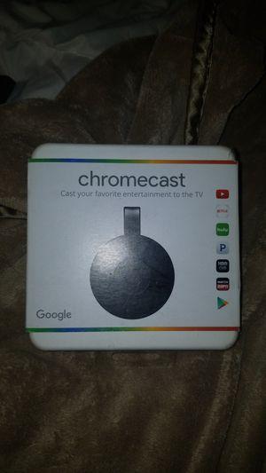 Google Chromecast. Unopened in original packaging for Sale in Charleston, SC