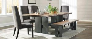 Dining room set with living edge for Sale in San Francisco, CA