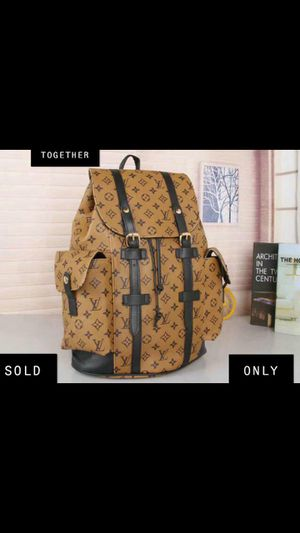 LOUIS VUITTON BACKPACK AND WALLET for Sale in San Diego, CA