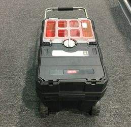 Tool Box Masterloader Sliding Tool Chest Storage Caja de herramientas Keter 17191709 for Sale in Miami,  FL