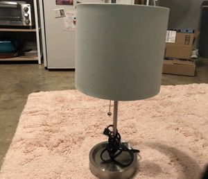 Table Lamp stand and shade for Sale in Los Angeles, CA