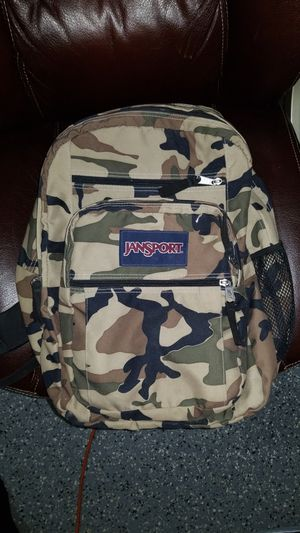 Camo jansport backpack for Sale in West Palm Beach, FL