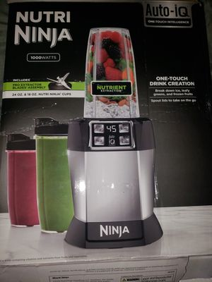 nutri ninga 1000w blender for Sale in Clearwater, FL