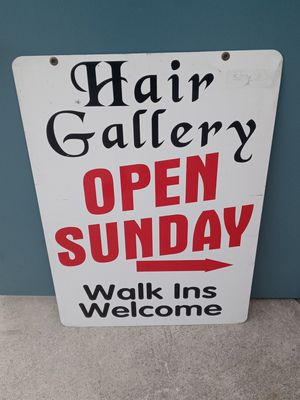 Double-sided Porcelain sign for Sale in Santa Fe Springs, CA