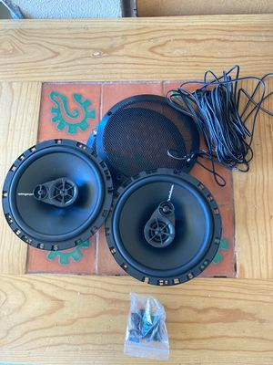 Rockford speakers coaxial 6.5 inch car audio for Sale in San Diego, CA